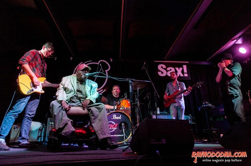 Cedell Davis i Brethren u Saxu (Foto: Dinko Bažulić)