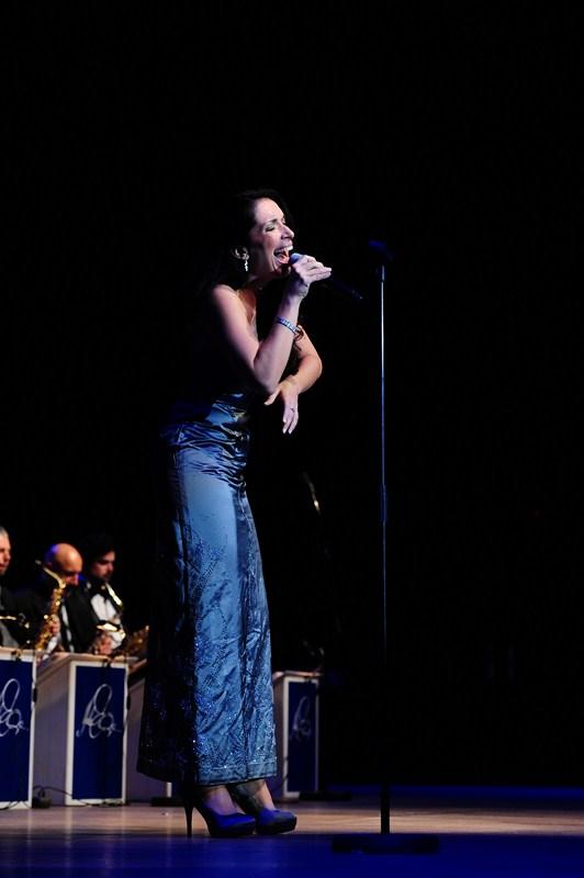 Lela Kaplowitz i The Duke Ellington Orchestra u Lisinskom (Foto: Dinko Bažulić)