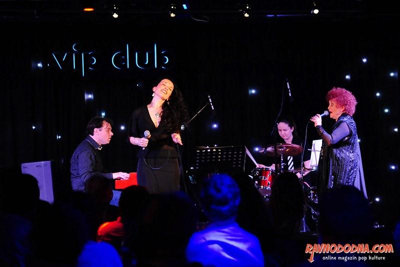 Zdenka Kovačiček i Lela Kaplowitz u Vip Clubu (Foto: Dinko Bažulić)
