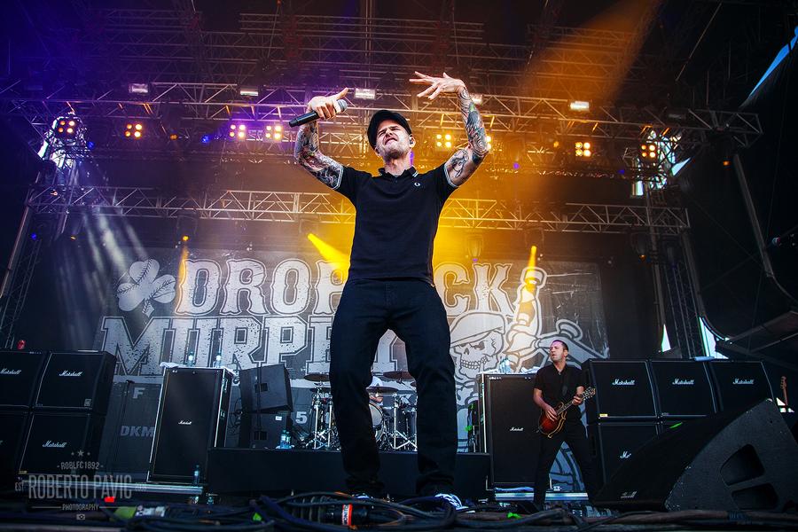 Dropkick Murphys na Nova Rock Festivalu (Foto: Roberto Pavić)