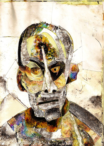 Bryan Lewis Saunders - autoportret, korištena droga: morfij (doza nepoznata)