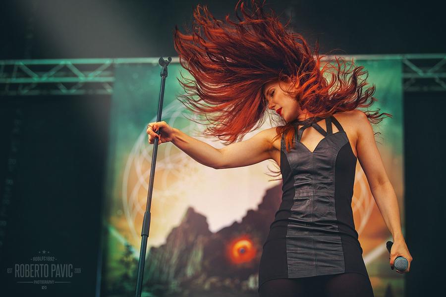 Epica na Nova Rock Festivalu (Foto: Roberto Pavić)