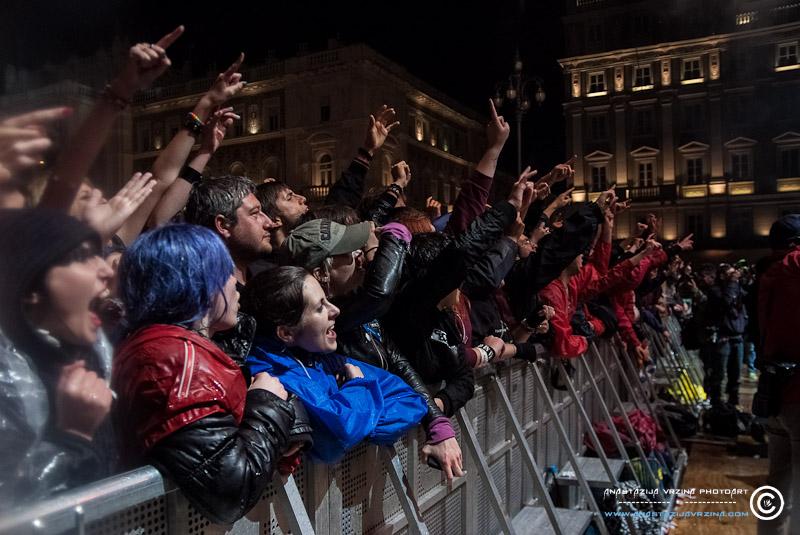 Green Day u Trstu (Foto: Anastazija Vržina)