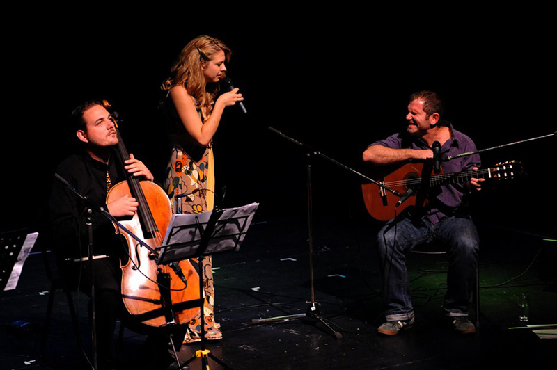 Guillermo Rozenthuler & Maja Savić u Zagrebu (Foto: Dinko Bažulić)