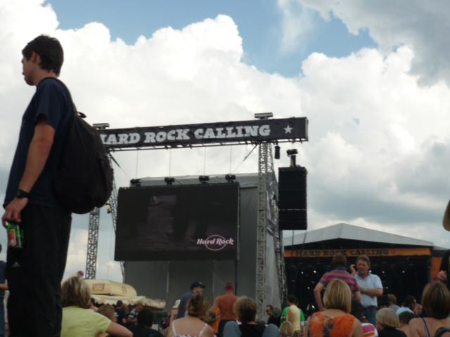 Hard Rock Calling - London 2009. (Foto: Lana Brčić)