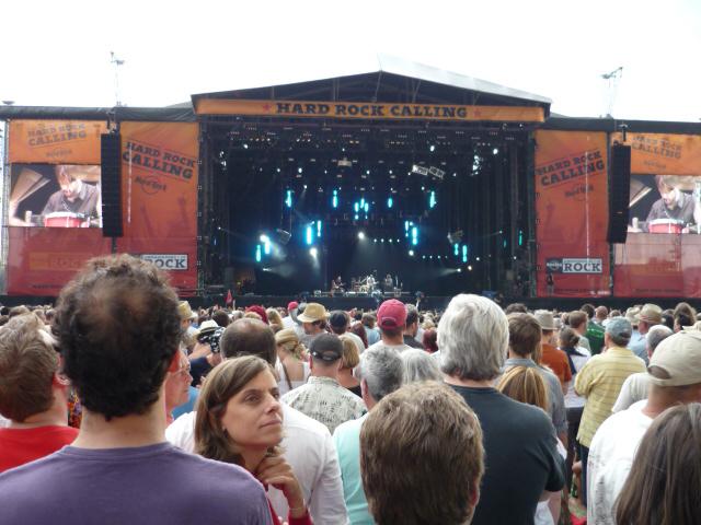 Fleet Foxes na Hard Rock Calling - London 2009. (Foto: Lana Brčić)