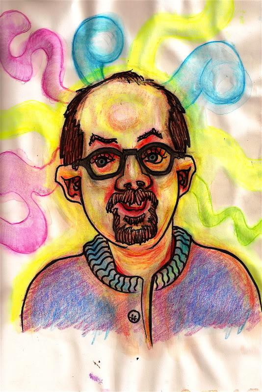 Bryan Lewis Saunders - autoportret, korištena droga: Hašiš