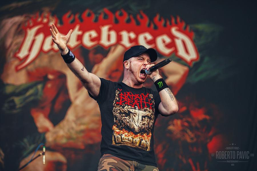 Hatebreed na Nova Rock Festivalu (Foto: Roberto Pavić)
