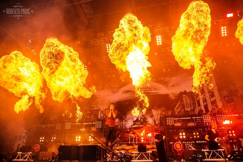 Heaven Shall Burn na festivalu Nova Rock 2016 (Foto: Roberto Pavić)