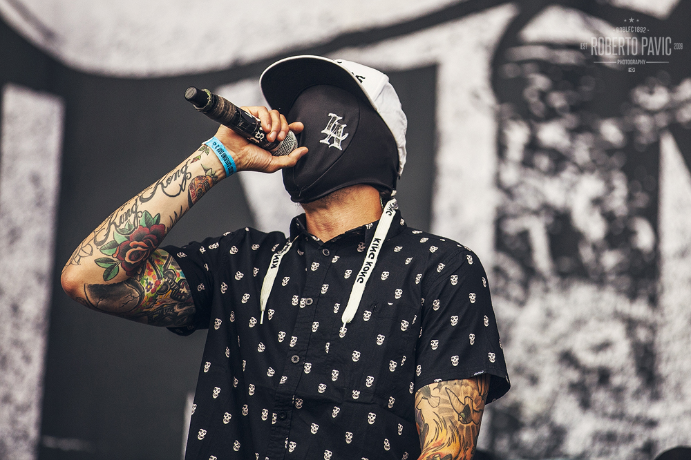 Hollywood Undead na Nova Rock 2015 festivalu (Foto: Roberto Pavić)