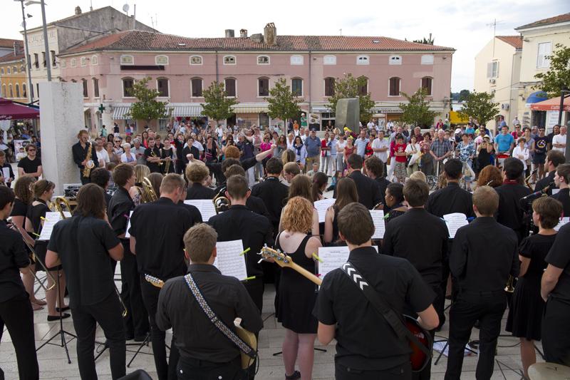 Program Guerilla jazz na 4. Valamar Jazz Festivalu (Foto: Tatjana Genc)