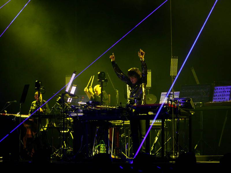Jean Michel Jarre u Areni (Foto: Nino Šolić)