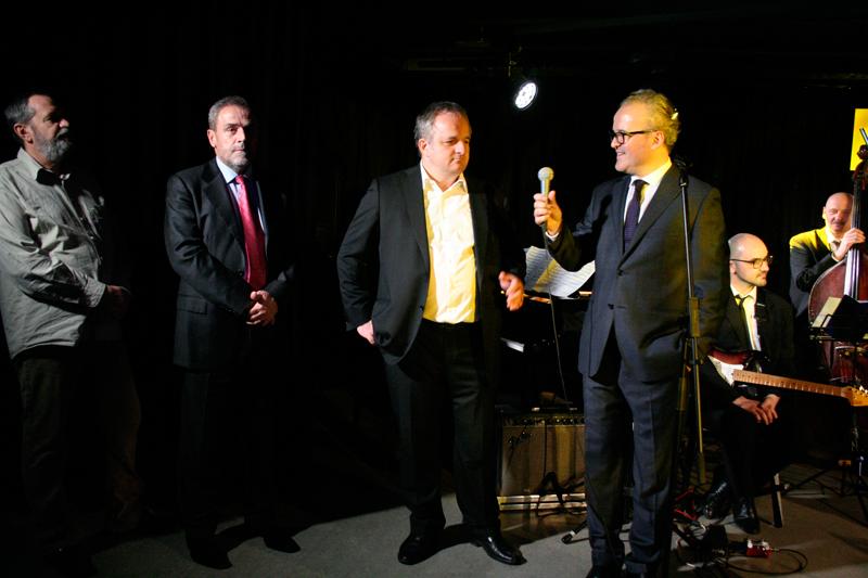 Davor Hrvoj, Milan Bandić, Saša Rendić i Dražen Kokanović (Foto: Walter Thompson)