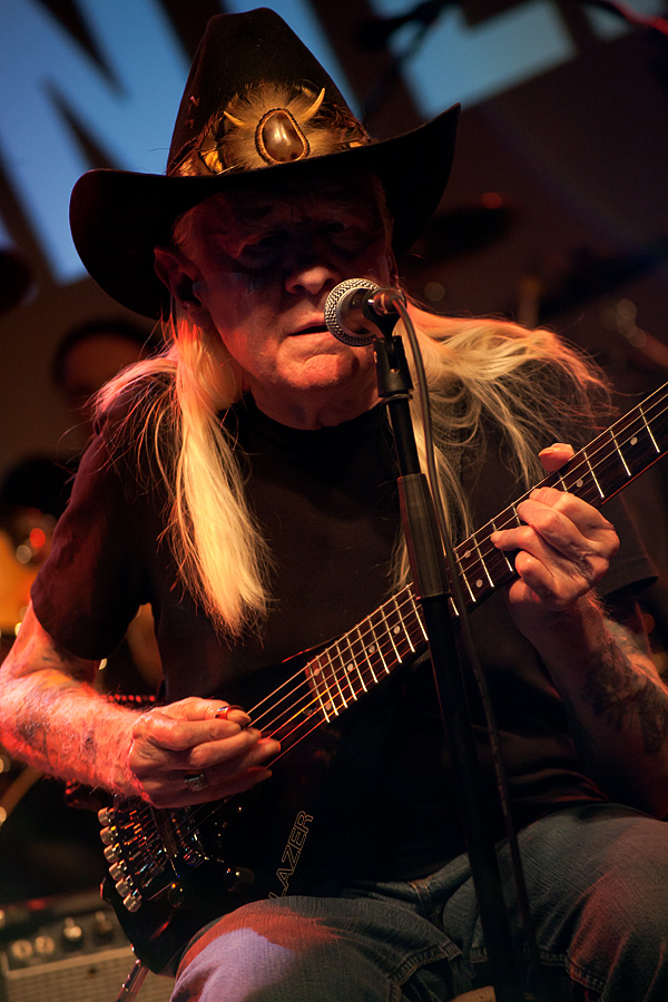 Johnny Winter u Tvornici (Foto: Tomislav Sporiš)