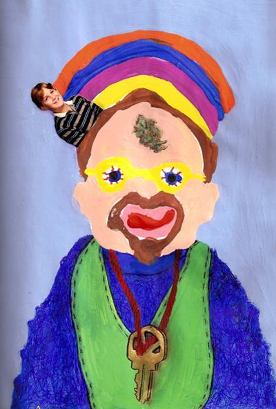 Bryan Lewis Saunders - autoportret, korištena droga: marihuana, sorta Kind Bud