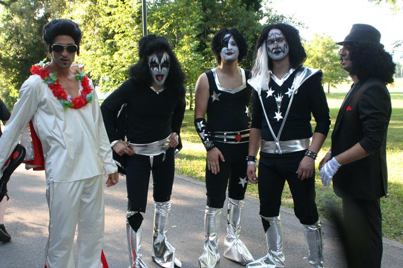 Elvis i Kiss na INmusic Festivalu (Foto: Walter Thompson)