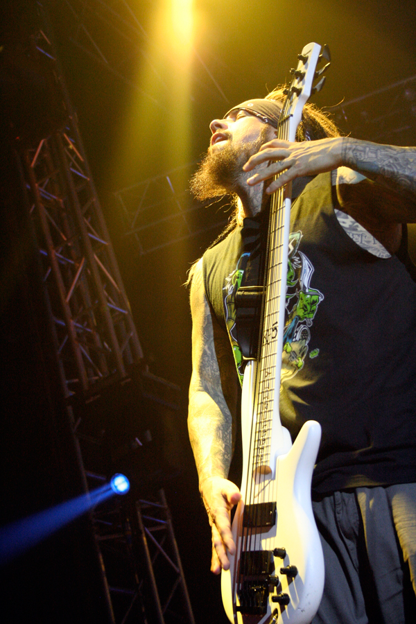 Korn, Reginald Fieldy Arvizu (Foto: Walter Thompson)