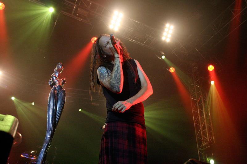 Korn, Jonathan Davis (Foto: Walter Thompson)