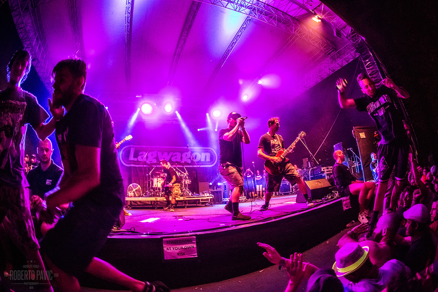 Punk Rock Holiday u Tolminu 2016 - Lagwagon (Foto: Roberto Pavić)