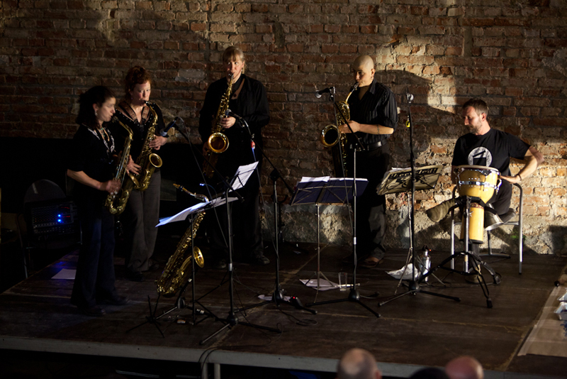 Tiptons Sax Quartet i Danijel Žeželj u Laubi (Foto: Damir Žižić)