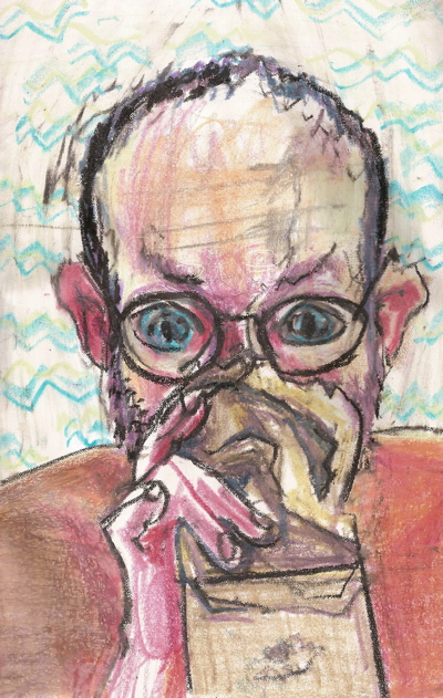 Bryan Lewis Saunders - autoportret, korištena droga: inhalacija plina za upaljače