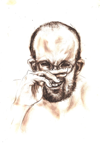 Bryan Lewis Saunders - autoportret, korištena droga: Loritab (10 mg)