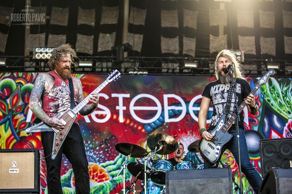 Mastodon na Nova Rock 2015 festivalu (Foto: Roberto Pavić)