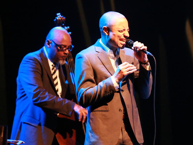 Gerald Cannon i Jose James (Foto: Walter Thompson)