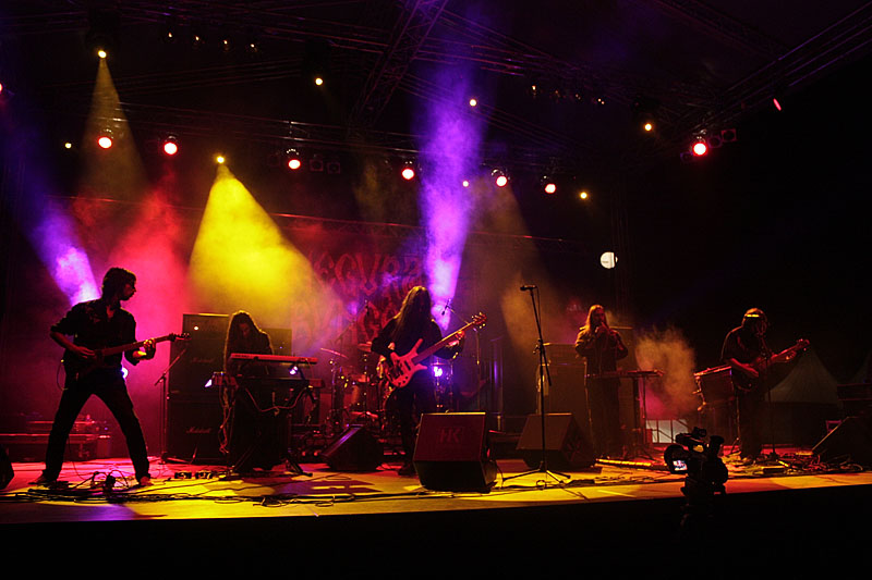 Negura Bunget, Exit festival - Novi Sad (Foto: jigoku no shihaisha)