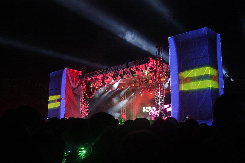 Deadmau5, Exit festival - Novi Sad (Foto: jigoku no shihaisha)