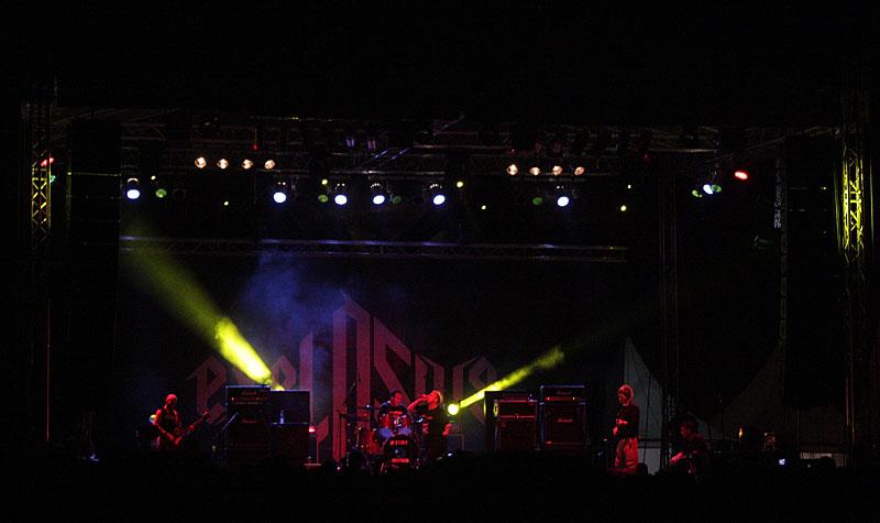 Discharge, Exit festival - Novi Sad (Foto: jigoku no shihaisha)