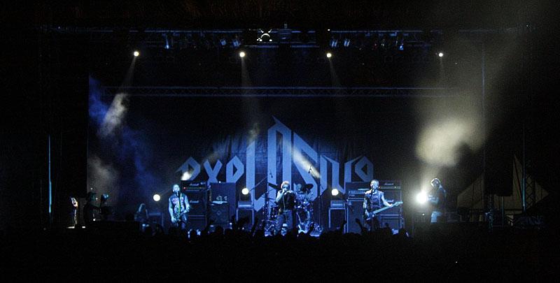 Anti-Nowhere League, Exit festival - Novi Sad (Foto: jigoku no shihaisha)