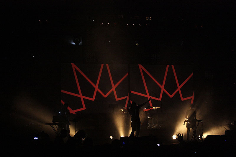 Laibach, Exit festival - Novi Sad (Foto: jigoku no shihaisha)