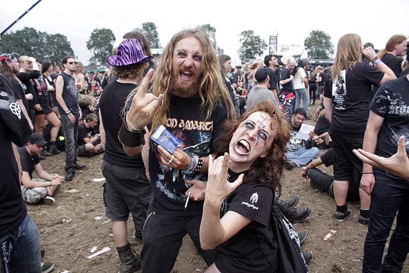 Heavy metal atmosfera na Wackenu (Foto: jigoku no shihaisha)