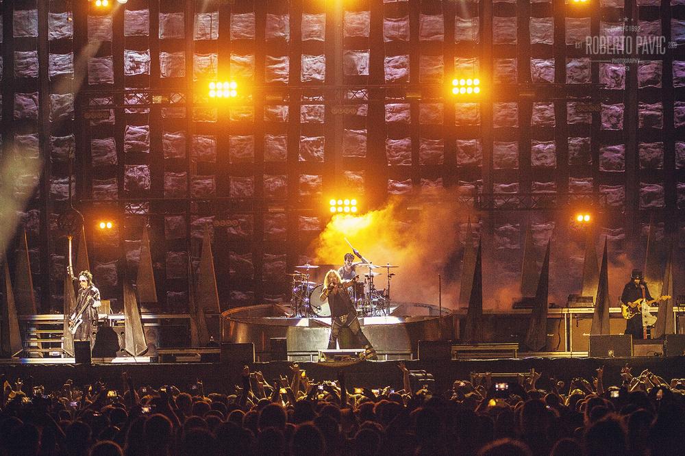 Motley Crue na Nova Rock 2015 festivalu (Foto: Roberto Pavić)