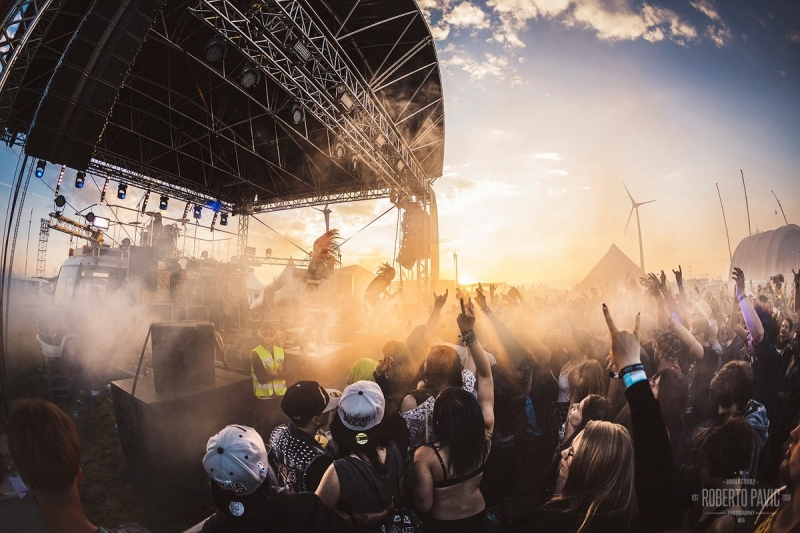 New Years Day na festivalu Nova Rock 2016 (Foto: Roberto Pavić)