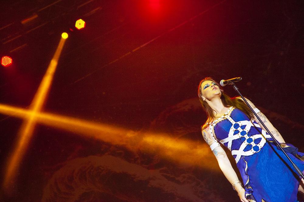 Nightwish na Nova Rock 2015 festivalu (Foto: Roberto Pavić)