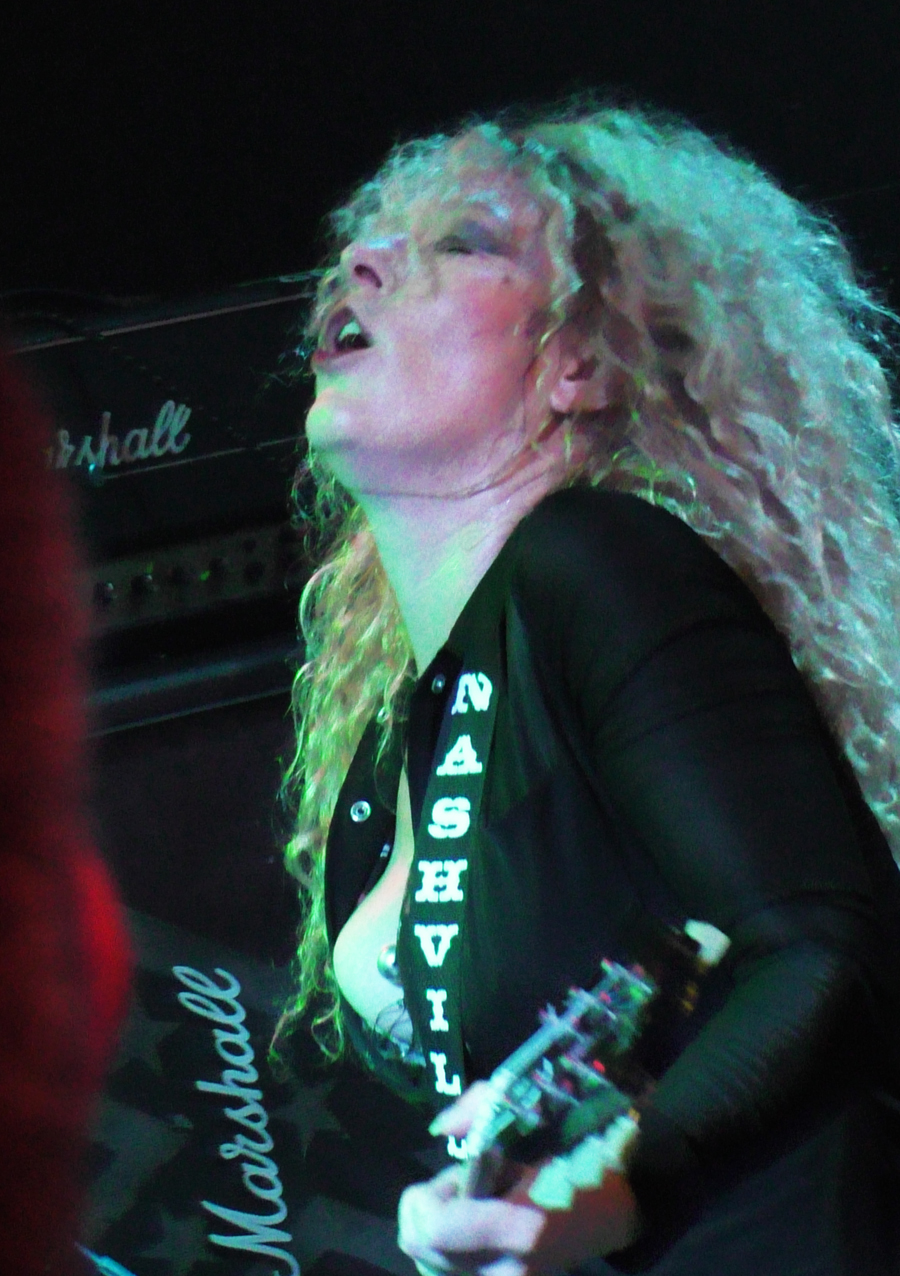 Nashville Pussy u Hard Placeu (Foto: Zoran Stajčić)