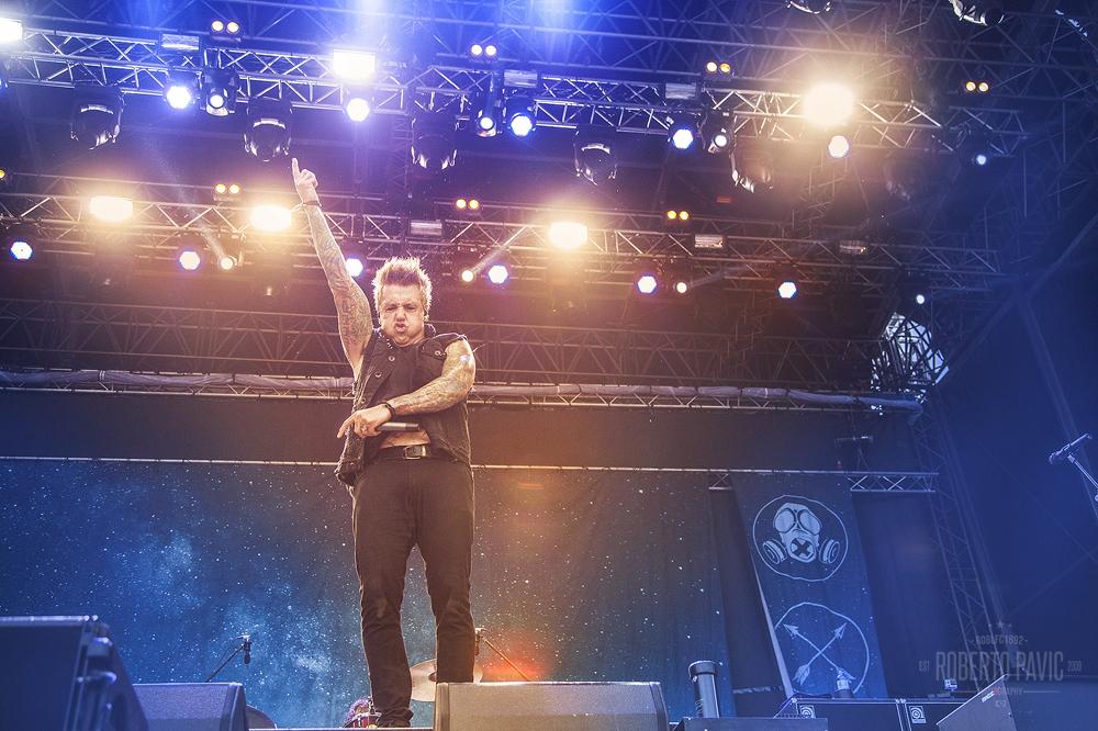 Papa Roach na Nova Rock 2015 festivalu (Foto: Roberto Pavić)