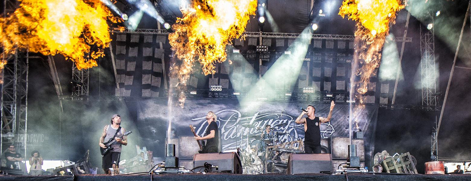 Parkway Drive na Nova Rock 2015 festivalu (Foto: Roberto Pavić)