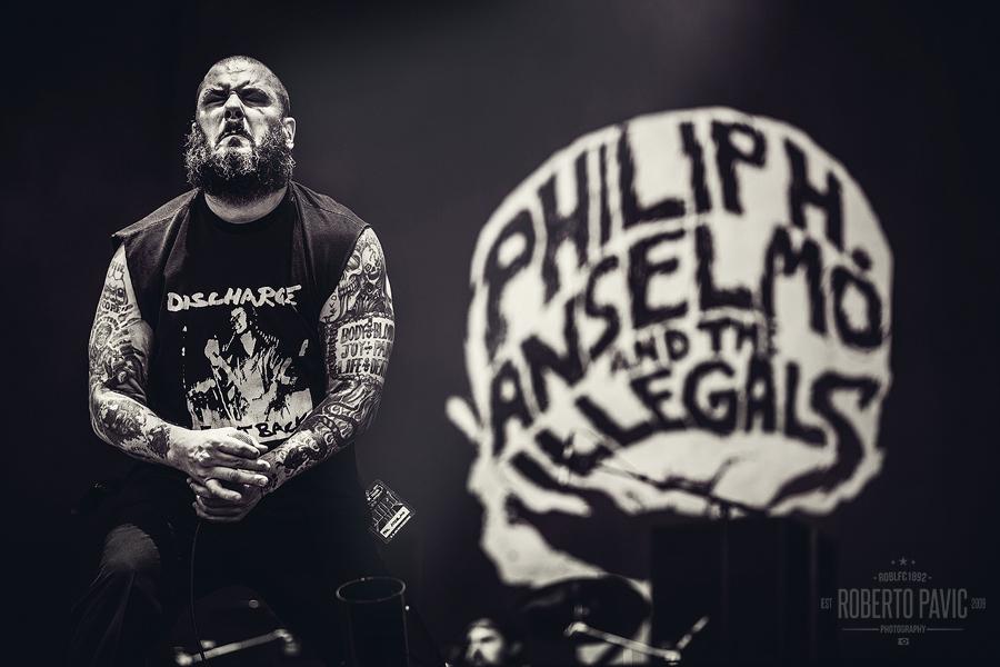 Phil Anselmo na Nova Rock Festivalu (Foto: Roberto Pavić)