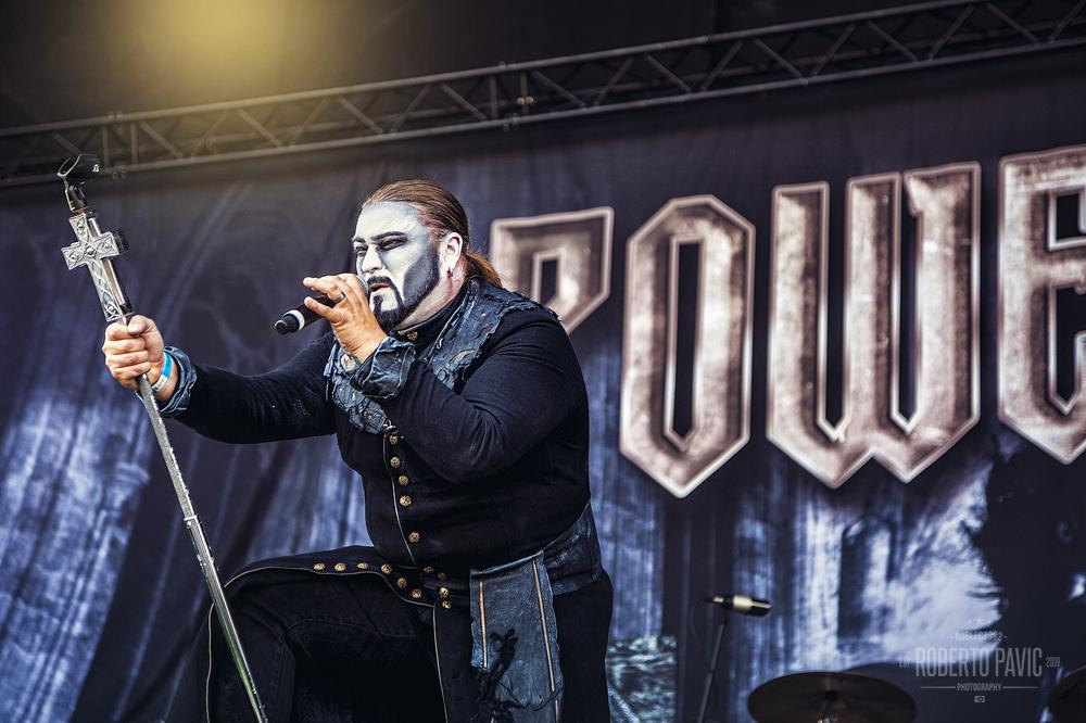 Powerwolf na Nova Rock 2015 festivalu (Foto: Roberto Pavić)