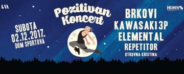 Pozitivan koncert 2017