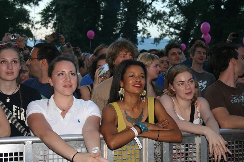 Publika na INmusic festivalu 2011. (Foto: Walter Thompson)