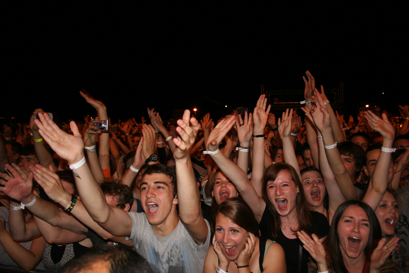 Publika na INmusic Festivalu 2011 (Foto: Walter Thompson)