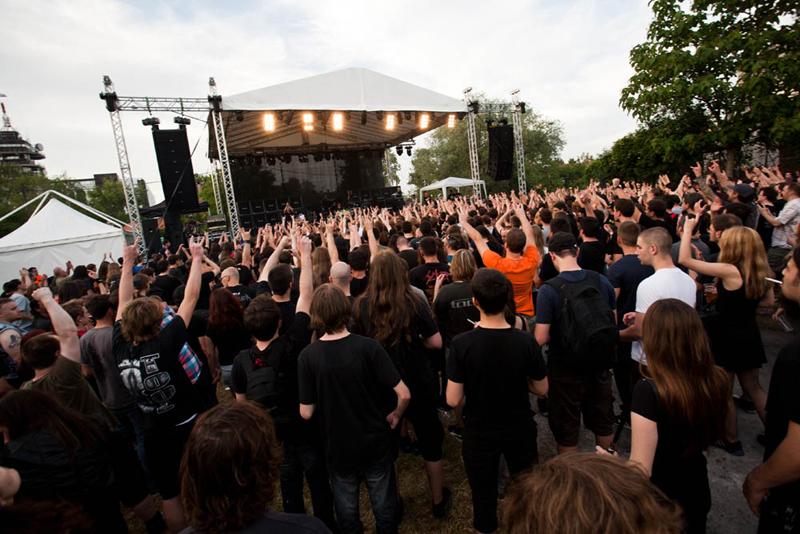 Publika na Rokaj Festu (Foto: Nino Šolić)