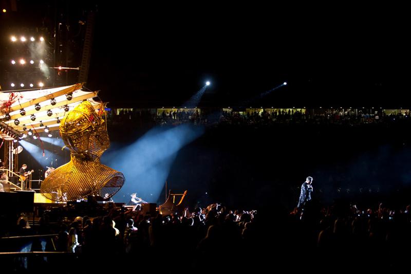 Robbie Williams na maksimirskom stadionu (Foto: Nino Šolić)