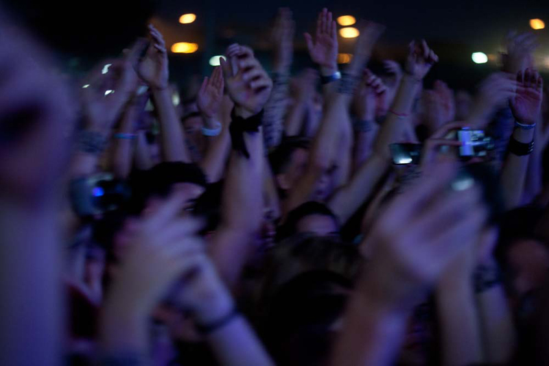 Publika na koncertu Red Hot Chili Peppersa (Foto: Nino Šolić)