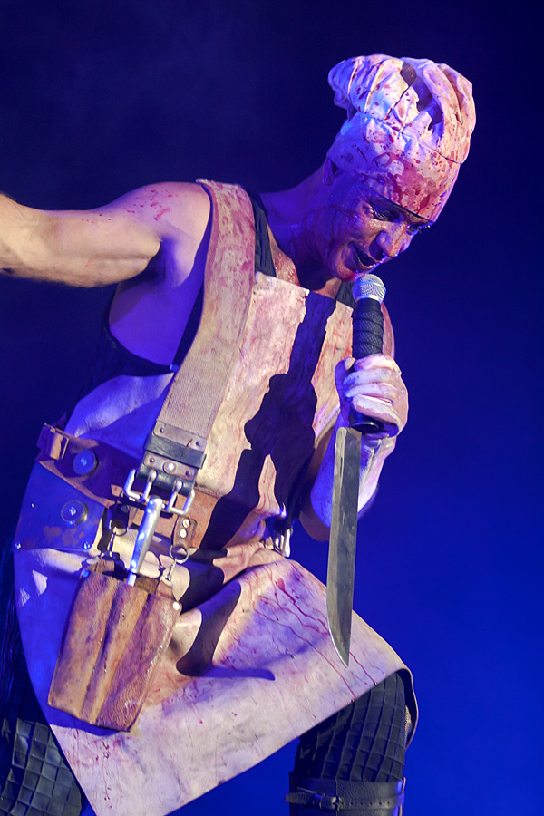 Rammstein u Areni (Foto: Tomislav Sporiš)