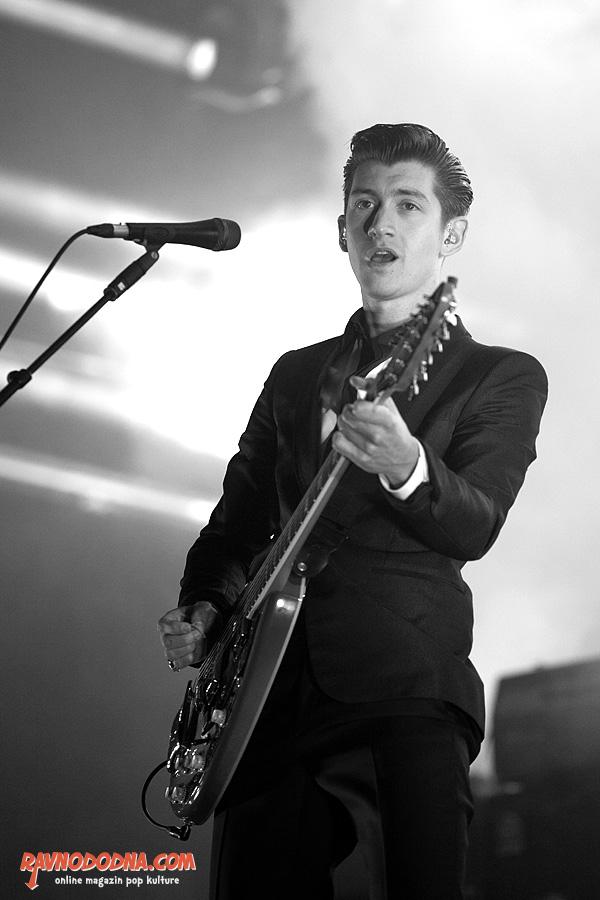 Arctic Monkeys na INmusic festivalu (Foto: Tomislav Sporiš)